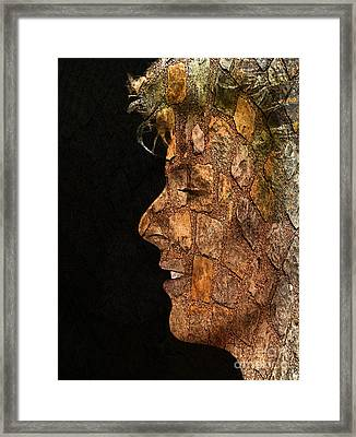 David Bowie 001 Framed Print by Sergey Lukashin
