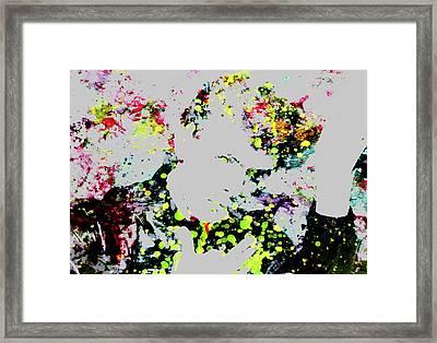David Bowie 4a Framed Print