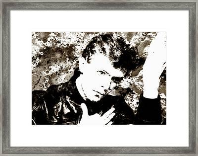 David Bowie 4b Framed Print