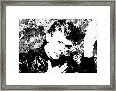 David Bowie 4c Framed Print