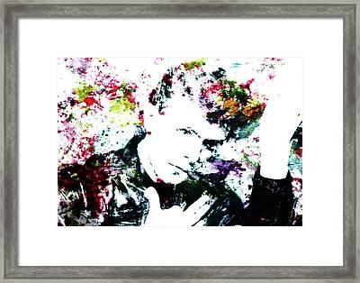 David Bowie 4d Framed Print