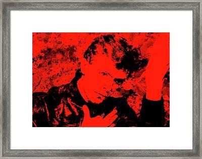 David Bowie 4g Framed Print