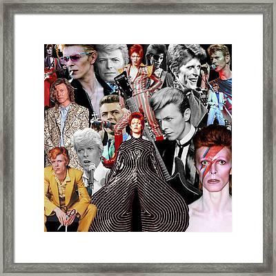 David Bowie 6 Framed Print
