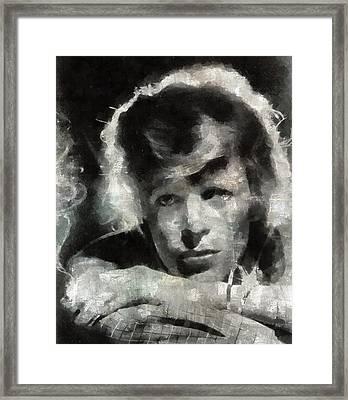 David Bowie By Mary Bassett Framed Print by Mary Bassett