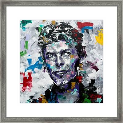 David Bowie II Framed Print