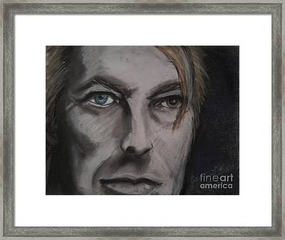 David Bowie Framed Print by Jamey Balester