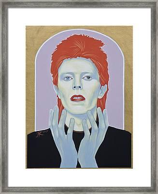 David Bowie Framed Print by Jovana Kolic