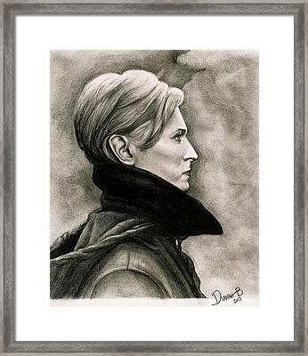 David Bowie - Low Framed Print