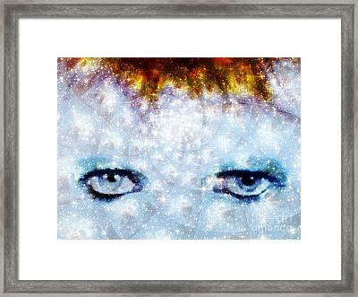 David Bowie / Stardust Framed Print