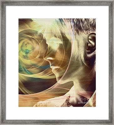 David Bowie / Transcendent Framed Print