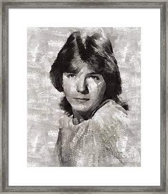 David Cassidy, Singer And Actor Framed Print