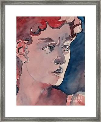 David Framed Print by Lise PICHE