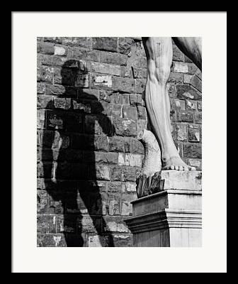 Michaelangelos David Framed Prints