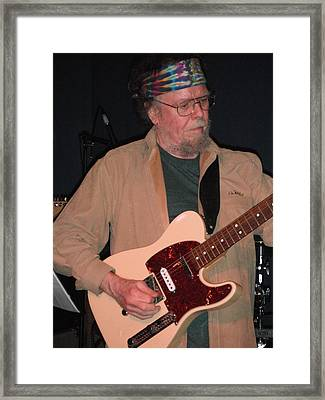 Framed Print featuring the photograph David Nelson by Susan Carella