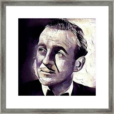 David Niven Hollywood Star Framed Print by Esoterica Art Agency