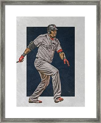 David Ortiz Boston Red Sox Art 2 Framed Print