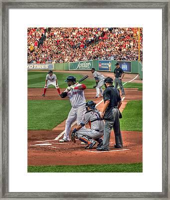 David Ortiz - Boston Red Sox  Framed Print