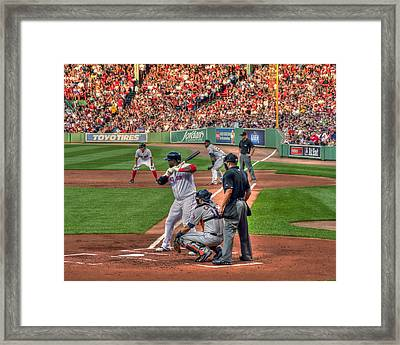 David Ortiz - Bostonn Red Sox Framed Print