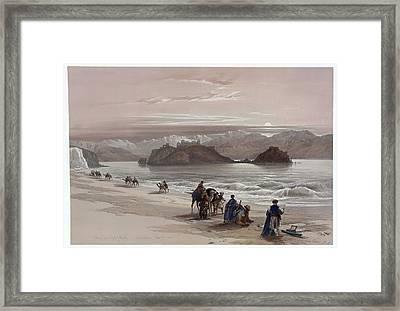 David Roberts 1796-1864  Scottish Painter Framed Print