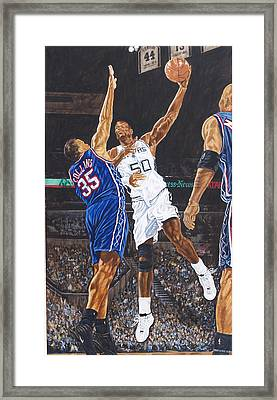 David Robinson Framed Print by Roger W Price