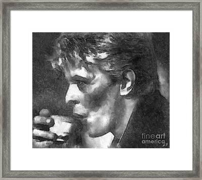 David Framed Print by Sergey Lukashin