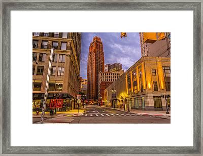 David Stott Building  Framed Print