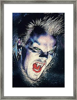 David Van Etten - The Lost Boys Framed Print by Taylan Apukovska