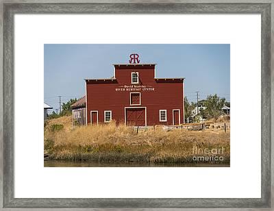 David Yearsley River Heritage Center Petaluma California Usa Dsc3863 Framed Print