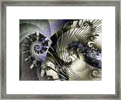 David's Lyre Framed Print by David April