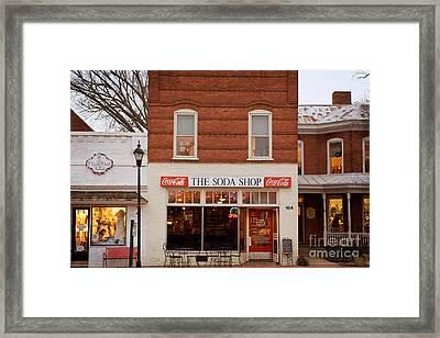 Davidson North Carolina Framed Print
