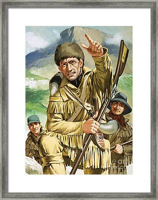 Davy Crocket Framed Print