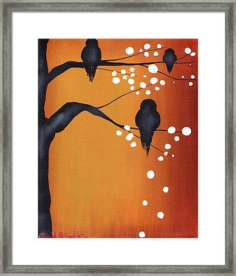 Dawn Framed Print by  Abril Andrade Griffith