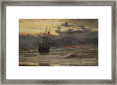 Dawn After The Storm Framed Print by William Lionel Wyllie