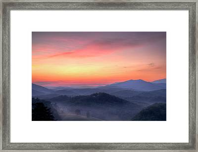 Dawn Arrives Framed Print by Zev Steinhardt