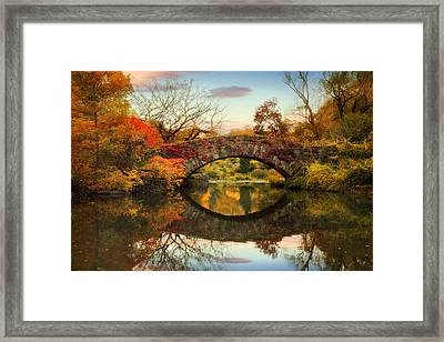 Dawn At Gapstow Framed Print by Jessica Jenney