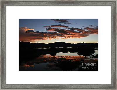 Dawn At Lake Dillon Framed Print
