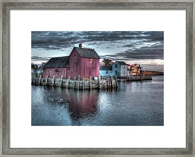 Dawn At Motif Number 1 Framed Print