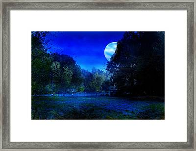 Dawn At Night Framed Print