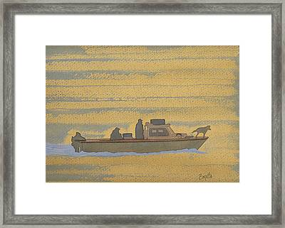 Dawn At Prout's Neck   Framed Print by Robert Boyette