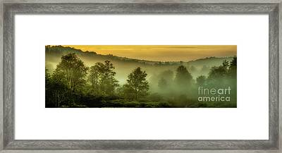 Framed Print featuring the photograph Dawn At Wildlife Management Area by Thomas R Fletcher