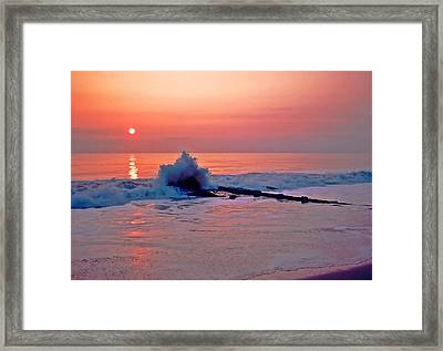 Dawn Breaker Framed Print