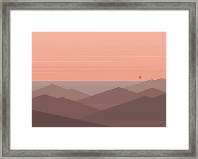 Dawn Breaks II Framed Print