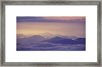 Dawn Breaks Framed Print by Rob Travis