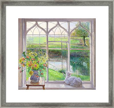 Dawn Breeze Framed Print by Timothy Easton