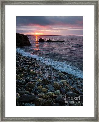 Dawn, Camden, Maine  -18868-18869 Framed Print