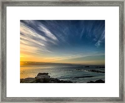 Dawn Clarity Framed Print
