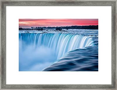 Dawn Flow Framed Print
