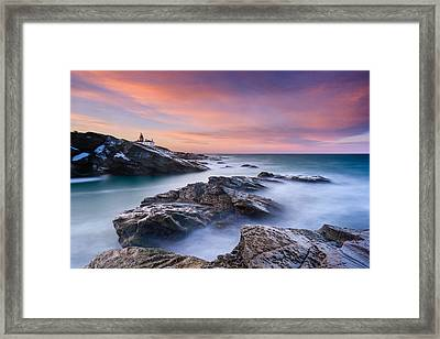 Dawn Glory Framed Print