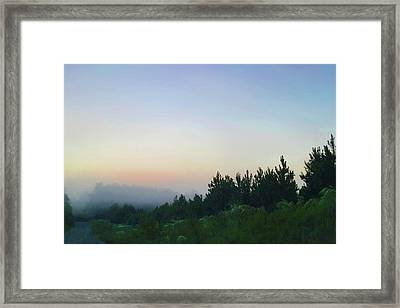 Dawn In Chatham Framed Print by Gina Harrison
