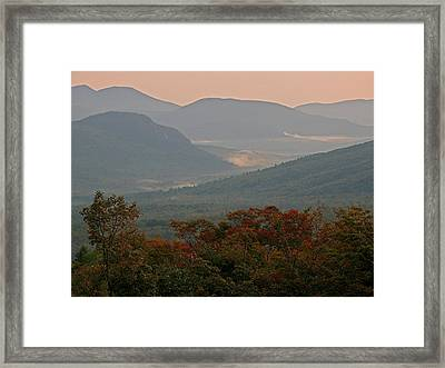 Dawn In The White Mountains Framed Print by Juergen Roth